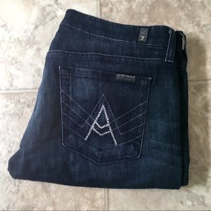 7 For All Mankind A Pocket Size 30 Inseam 29